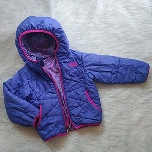 The North face toddler 2T reversible winter coat